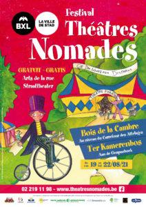 affiche Theatres nomades